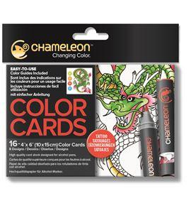 Color cards - tattoo - CC0104