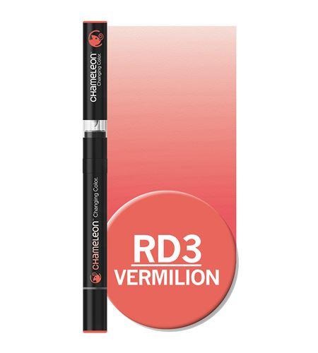 Rotulador chameleon - vermilion rd3 - RD3