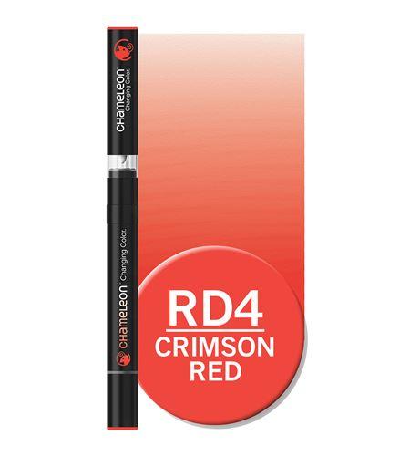 Rotulador chameleon - crimson red rd4 - RD4