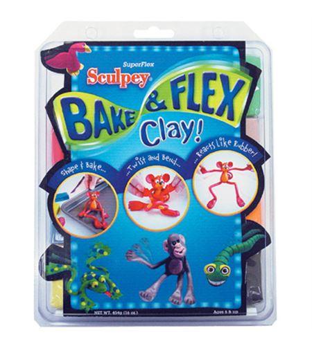 Kit infantil sculpey - bake & bend 8 pc. - FX4004