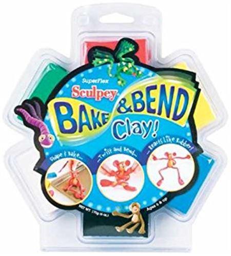 Kit infantil sculpey - bake & bend 6 pc. - FX4048