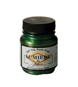 Pintura lumiere - metallic olive green - IJAC1562