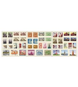 Sellos adhesivos - monumentos - 11004350