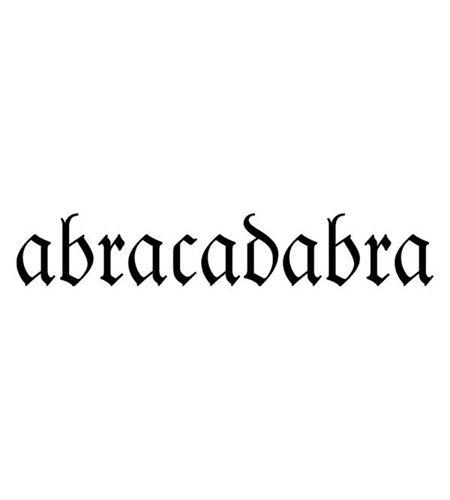 Sello de madera - abracadabra - ARTHC704