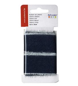 Cinta de tela para manualidades - jeans - 13020043