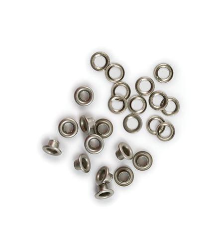 Set de eyelets - níquel 60pc. - 422181