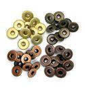 Set de eyelets - 4 tonos cobre 40pc.