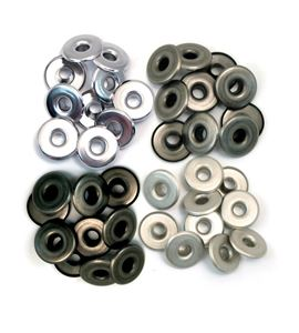 Set de eyelets - 4 tonos cobre 40pc. - 41596-1