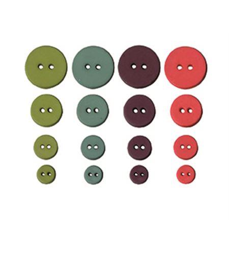 Set de botones circulares - oldies - UBBOR26