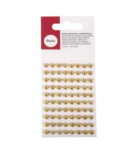 Perlas adhesivas - dorado - 1511806_2