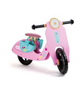 Bicicleta de aprendizaje, bólido rosa - 10109