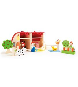Mundo de juego granja de madera - 10124