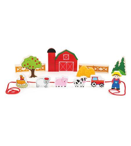 Mundo de juego, granja para ensartar - 10168