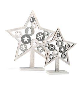 Estrellas decorativas navideñas - 10205