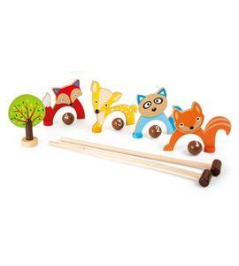Croquet, animales del bosque - 10243
