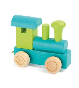 Tren de letras, locomotora verde & turquesa - 10347