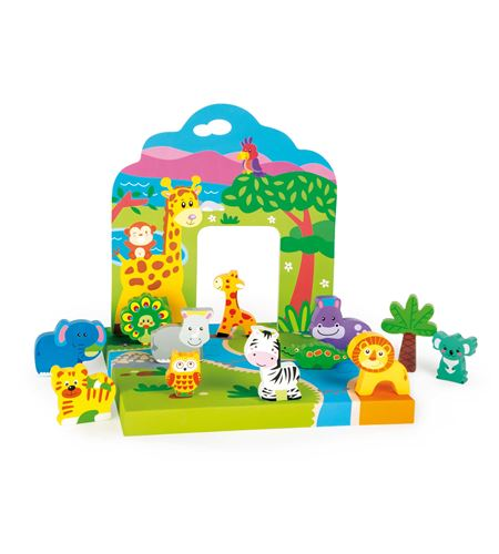 Mundo de juego en el zoo - 10532