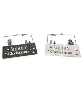 """Cartel decorativo """"merry christmas"""" - 10538"""