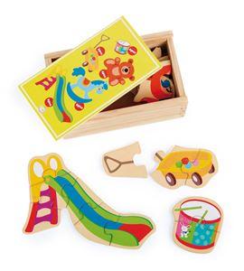 Caja de puzles mi juguete favorito - 10550