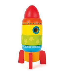 Cohete para apilar multicolor - 10588