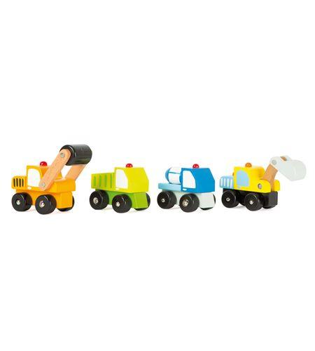 Vehículos de obras multicolores - 10633