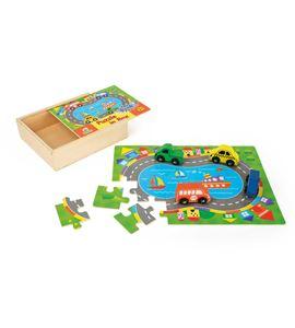 Caja de puzle del tráfico - 10710