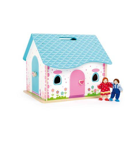 Casa de muñecas de abrir y cerrar - 10737