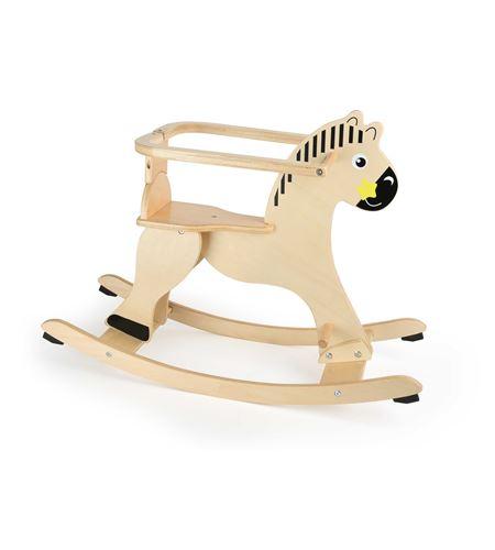 Balancín caballo con anillo de protección - 10746