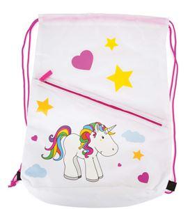 Bolsa deportiva con motivo de unicornio - 10760