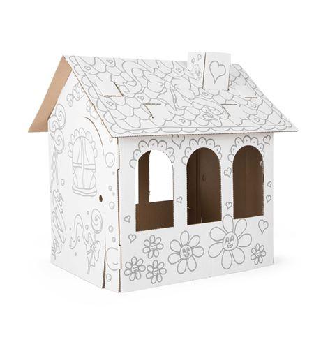Casa de muñecas de cartón - 10762