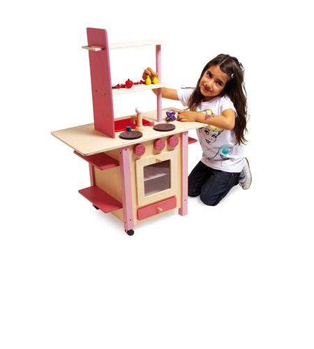 "Cocina ""all in one"", rosa - 1154"