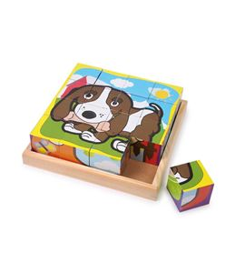 "Puzle de cubos ""mascotas"" - 1475"
