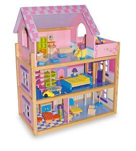 Casa de muñecas, rosa - 1535