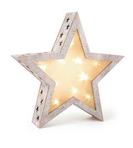 Lámpara de estrella shabby chic, grande - 2388