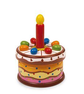 """Reloj de música """"tarta de cumpleaños"""" - 2483"""
