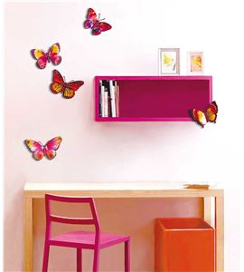 "Pegatinas decorativas ""mariposas"" - 2631"