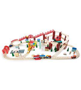 Set de trenes, mi ciudad - 3122