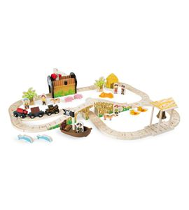 Set de tren ´isla pirata´ - 3123