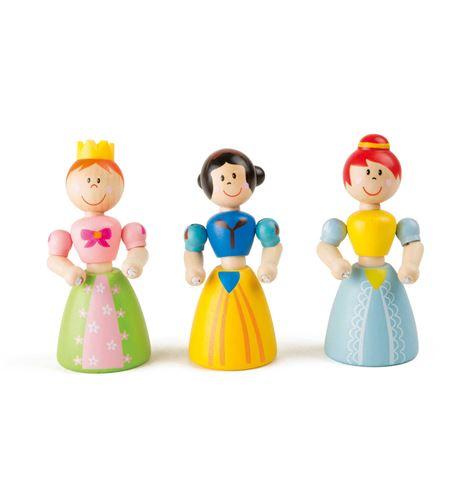Display princesas de madera flexibles - 3215