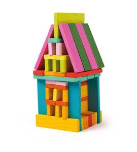 Juego de construcción de madera - 3219