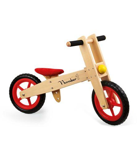 "Bicicleta de aprendizaje ""numero 1"" - 4713"