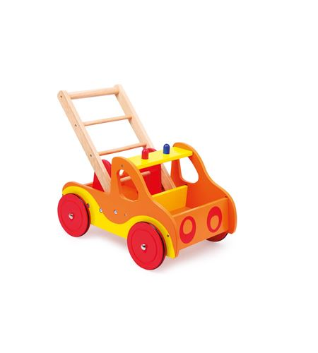 "Carrito de primer paso ""bomberos"" - 4740"