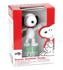 Peanuts figura para apretar snoopy - 5729