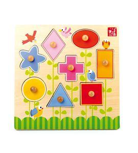 """Set de puzle """"formas´ - 5843"""