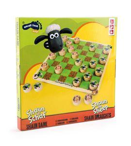 """Juego de damas """"la oveja shaun"""" - 5870"""