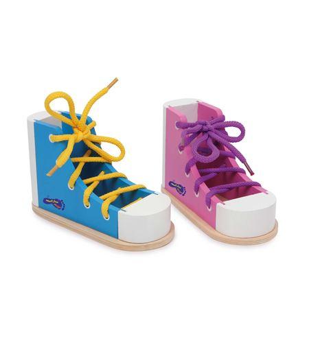 Zapato para ensartar, colorido - 6475
