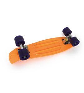 Skateboard, naranja neón - 6785