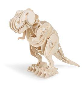 Juego de construcción de madera dino robot t-rex - 6946