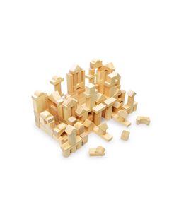 Juego de construcción de madera, en saco - 7073