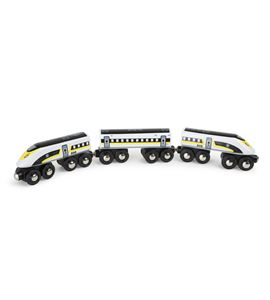 Tren de alta velocidad de madera - 7805
